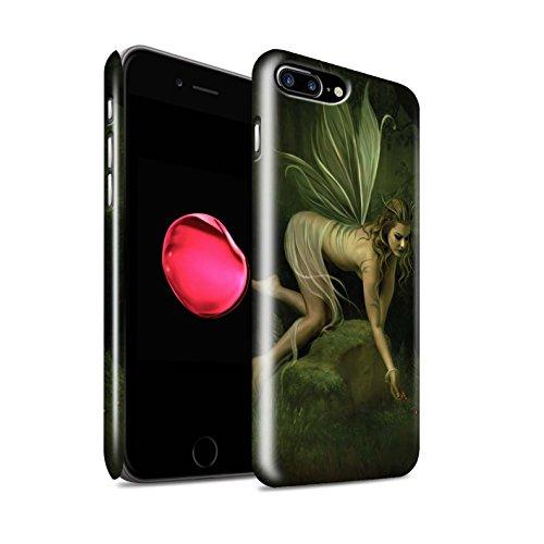 Offiziell Elena Dudina Hülle / Glanz Snap-On Case für Apple iPhone X/10 / Fee von das Land Muster / Elegante Feen Kollektion Beeren/Königin