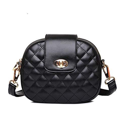 RWQVY Mode Diamantgitter Kleine Umhängetasche Für Frauen Qualität Weibliche Flap Bag Klassische Damen Umhängetasche Sac - Klassische Flap Bag