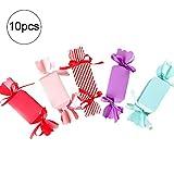 Isuper Cute Cartoon boîte-Cadeau Bonbons Emballage de boîte de Couleur Party Favor Boîtes Traiter Sacs en Papier (10pcs)