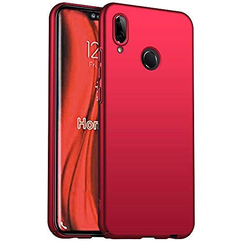 HUUH Coque pour Huawei P30 Pro,Étui de téléphone Portable élégant,Simple,Luxueux,Ultra-Mince,antidérapant,Ultra-léger,Parfait pour la beauté des Couleurs Unies(Rouge)