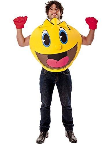 Damen Herren Pac Man Die Geisterhaften Abenteuer (Kostüme Pacman Standard)