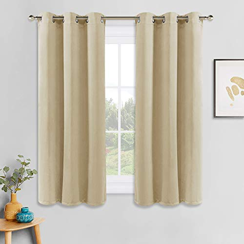 PONY DANCE Cortinas Cortas Salon Beige - Cortinas
