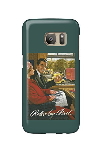 british-railways-relax-by-rail-poster-galaxy-s7-cell-phone-case-slim-barely-there