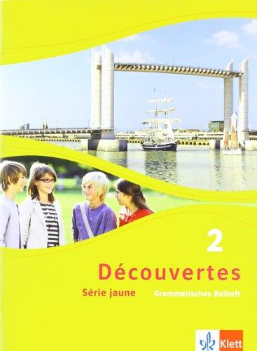 Französische 6 (Découvertes 2. Série jaune: Grammatisches Beiheft 2. Lernjahr (Découvertes. Série jaune (ab Klasse 6). Ausgabe ab 2012))