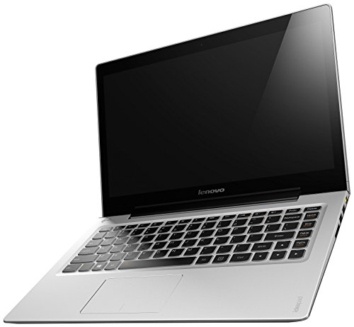 Lenovo U330 Touch 33,8 cm (13,3 Zoll HD LED) Ultrabook (Intel Core i7 4500U, 3GHz, 8GB RAM, Hybrid 500GB HDD (8GB SSD), Intel HD, Touchscreen, Win 8.1) grau