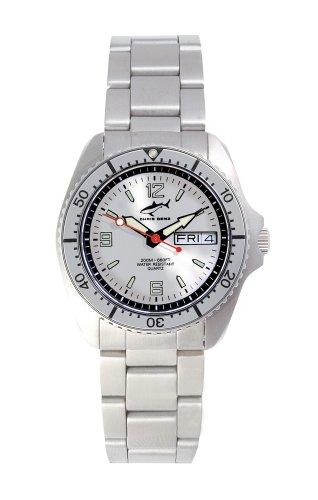 Chris Benz One Medium CBM-SI-SI-MB Reloj unisex Reloj de Buceo