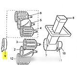 ELECTROLUX - ANNEAU D'ARRET RAPE POUR ROBOT MULTIFONCTIONS ELECTROLUX