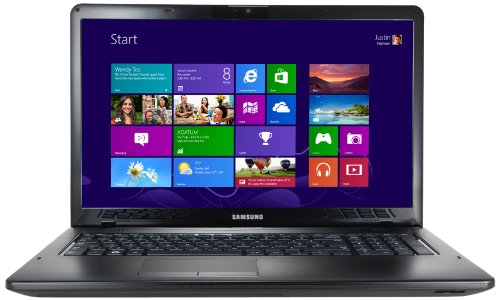 Samsung 350E7C 17.3-inch Laptop (Black) - (Intel Core i7 3630QM 2.4GHz Processor, 8GB RAM, 1TB HDD, DVDSM DL, LAN, WLAN, BT, Webcam, AMD Radeon Graphics, Windows 8)