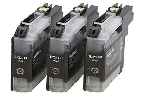 Preisvergleich Produktbild Druckerpatrone Tintenpatrone kompatibel für Brother LC-223 XXL 3 schwarz mit Chip geeignet für Brother DCP-Serie: DCP-J 562 DW / DCP-J 4120 DW MFC-J-Serie: MFC-J 4420 DW / MFC-J 4425 DW / MFC-J 4620 DW / MFC-J 4625 DW / MFC-J 5320 DW / MFC-J 5600 Series / MFC-J 5620 DW / MFC-J 5625 DW / MFC-J 5720 DW