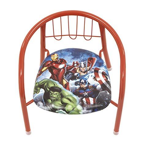 familie24 Avengers Kindersessel gepolstert Klappsessel Sessel Stuhl Hocker Sofa Kindersessel Kinderstuhl metallsessel