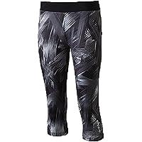 Energetics K de pantalones Capri Ambre–Multicolor/Black, color negro, tamaño 152
