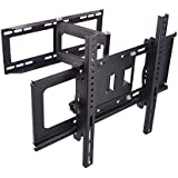 Sunydeal Soporte para TV de Pared con Inclinación +15°/-15°, compatible con TV de Pantalle de 30 - 60 pulgadas, VESA hasta 500x400mm, Carga 45KG/99 lbs,Compatible con Samsung Sharp Sony Sanyo LG Panasonic 30 32 39 40 42 43 46 47 48 49 50 55 60 Plasma LCD LED 4 K Flat Panel Smart TV