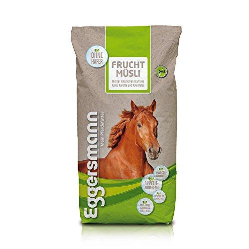 Eggersmann Frucht Müsli für Pferde, Frucht Müsli, für wählerische Pferde, eiweißreduziert, ohne Hafer, 1-er Pack (1 x 20 kg)