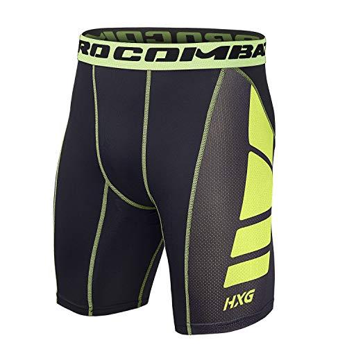 Hivexagon Pantalones Cortos Compresión