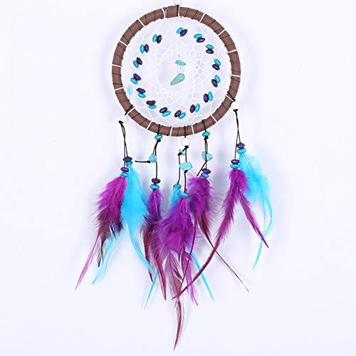 BDQZ Catcher Net Wandbehang Dekoration Ornament Antique Imitation Enchanted Forest Dreamcatcher Geschenk Handmade Dream (Dekoration Enchanted Forest)