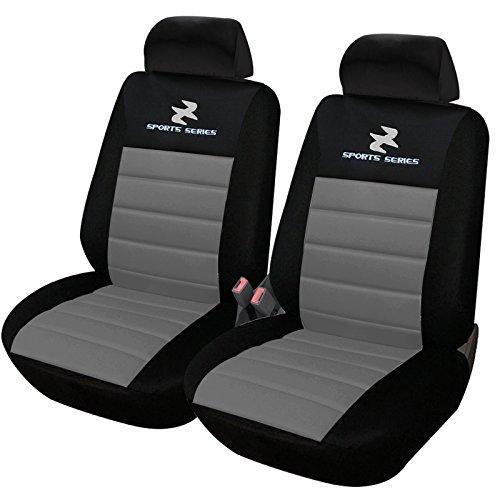 WOLTU AS7255-2 2er Sitzbezüge für Auto Einzelsitzbezug vordere Schonbezüge Si...