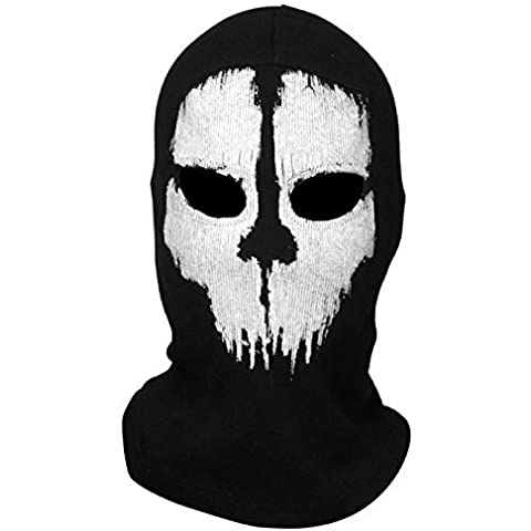 Koveinc New Ghosts Balaclava Bike Skateboard Cosply Costume Skull Mask by Koveinc Mask