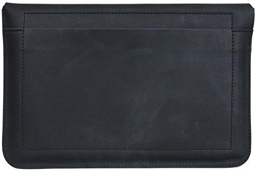 "Gusti Leder studio ""Devin"" porta tablet 12,1"" Custodia elegante per netbook Porta documenti nero 2L23-17-3"