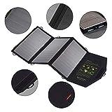 WNTHBJ Impermeabile Solar Charger Power Bank, 5V21W Solare Pieghevole del Telefono Cellulare caricabatteria, Portable Viaggi Famiglia, Caricatore (1 pz)