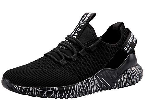 SINOES Herren Sportschuhe Laufschuhe Sneaker Atmungsaktiv Leichte Wanderschuhe Trainers Schuhe