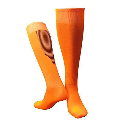 Metyere Hombre Mujer Fútbol Calcetines Gruesas Transpirable