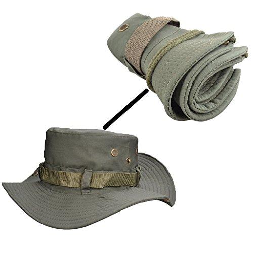 Beileer elegante sombrero de protección UV al aire libre sombrero para exteriores Pesca Camping Ciclismo Caza Golf Senderismo, mujer hombre Infantil