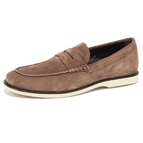 4358Q mocassino HOGAN scarpe uomo loafer shoes men Marrone chiaro