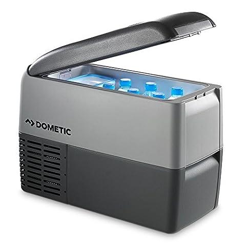 Dometic Waeco COOLFREEZE CDF 26 - Kompressor-Kühlbox, Gefrier-Box mit 12/24 Volt Anschluss für Zigarettenanzünder für PKW und LKW, tragbarer Mini-Kühlschrank, ca. 21 Liter