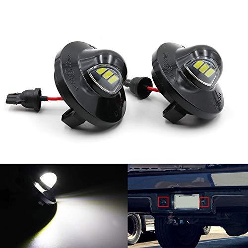 tbjm Ford F-150, LED Kennzeichenleuchte, OE-Fit 3W Voll Für Ford F150 Ranger Raptor Explorer LED Kennzeichenbeleuchtung (Ford F 150 2003)