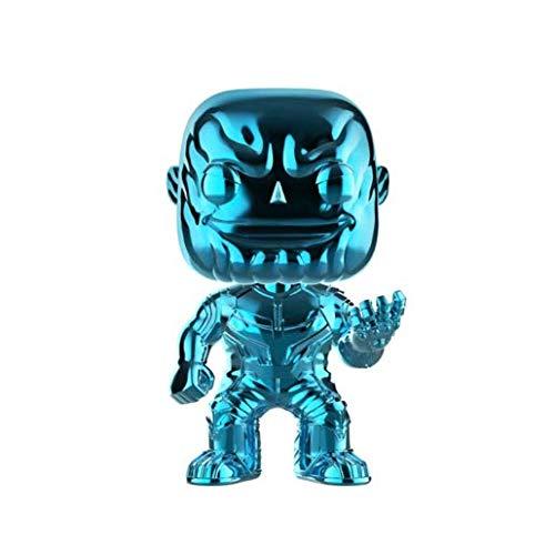 Funko Pop! – 36219 – Marvel: Avengers Infinity War – Thanos (Chrome - Azul) – Figura de Vinilo, 9cm