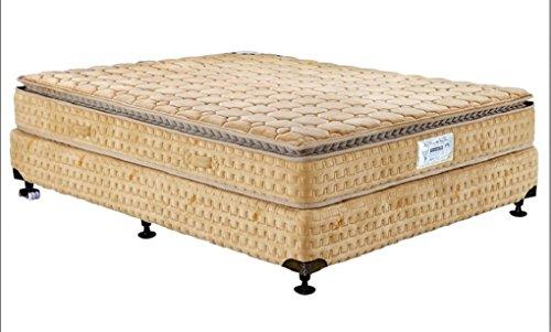 King Koil Chiropedic 5000 9-inch King Size Foam Mattress (Yellow, 78x72x9)