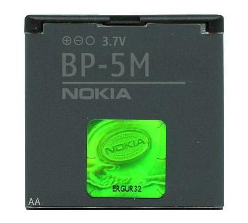 Original Nokia BP-5M BP5M BP-5-M Akku für 6110 Navigator 6220 classic 6500 Slide 7390 8600 Luna 8600Luna 7390Luna 6500Slide 6220classic 5700XpressMusic 5610 5710 5700 XpressMusic Xpress-Music (Slide Nokia 6500)