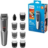 Philips 9-in-1 All-In-One Trimmer, Series 3000 Grooming Kit for Beard & Hair with 9 Attachments, Including Nose Trimmer…