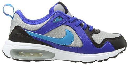 Nike - Air Max Trax Ps, Scarpe da ginnastica Bambino Multicolore (Multicolor (Metallic Silver/Blue Lagoon/Lyn Blue/Black))