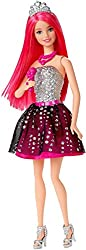 Barbie Toy - Rock 'N Royals - Courtney Fashion Doll - Princess To Rockstar