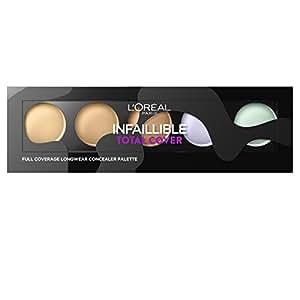 L'Oréal Paris Make Up Designer Infaillible Palette Fond de Teint Total Cover Teinte Universelle