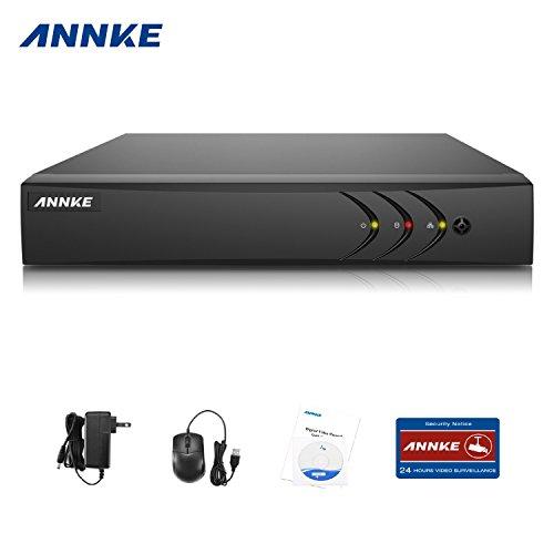 Annke TVI 1080P 8 Canali Network Digital Video Recorder Video Sorveglianza Videoregistratore CCTV DVR/HVR/NVR di Sicurezza del Sistema HDMI P2P senza HDD