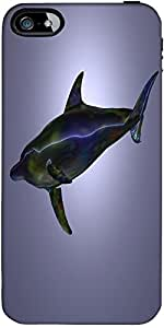 Snoogg Dolphin Designer Case Cover For Apple Iphone 4 / 4S