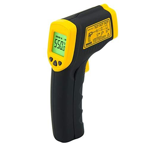 Cosay AR550 - Termómetro Digital por Infrarrojos Pantalla LCD, sin Contacto