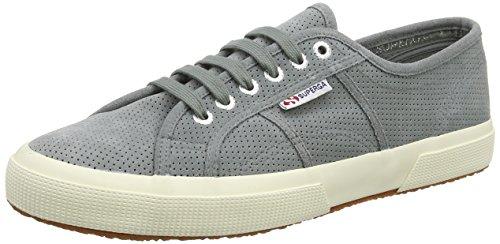 Superga 2750 Perfsuew, Sneaker Unisex Adulti, Grey...