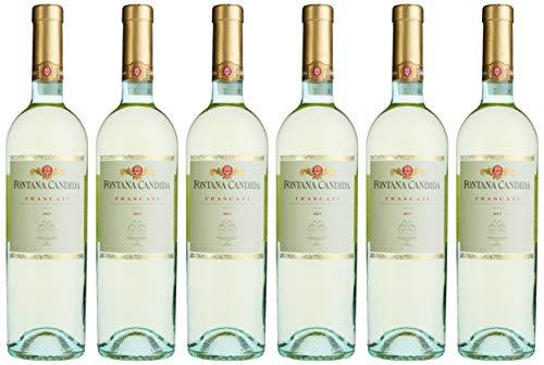 Fontana Candida Frascati Elite Wein DOC Weißwein trocken (6 x 0.75 l)