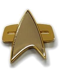 Calle Principal 24/7Star Trek Voyager/ds-91/2tamaño Communicator Pin