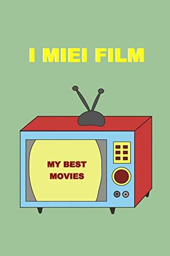 I miei Film: Recensisci film e serie TV.  Idea regalo per amanti del cinema, studenti di cinema e Serie Televisive.