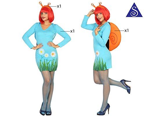 Imagen de atosa 18238–caracol, disfraz de mujer, tamaño m–l, 38/40 alternativa