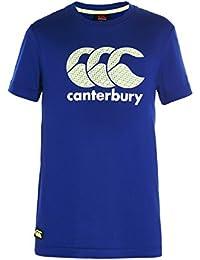 CANTERBURY CCC Enfant Logo T-shirt pour homme–SODALITE/True Rouge