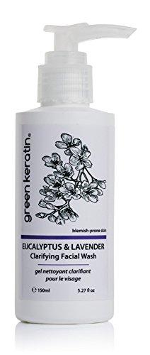 Green Keratin - Eukalyptus & Lavendel Klärende Gesichtswäsche / Anti-Blemish Facial Cleanser (Von Blatt Frei Alkohol-extrakt)