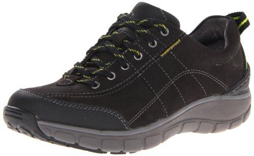 Clarks Vague Trek Sneaker. Black