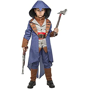 Childrens Assassins Creed Costume Fancy Dress World Book Week Day Gaming Cosplay