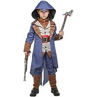 My Other Me - Disfraz de asesino para niño, color azul, 10-12 años (Viving Costumes 203952)