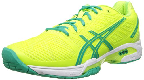 Asics Gel-Solution Speed 2 Clay Synthetik Laufschuh Flash Yellow/Mint/Sharp Green